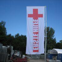 Fahne Rotes Kreuz